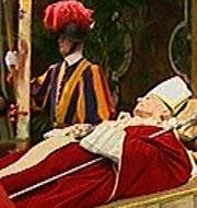 El adiós al Papa